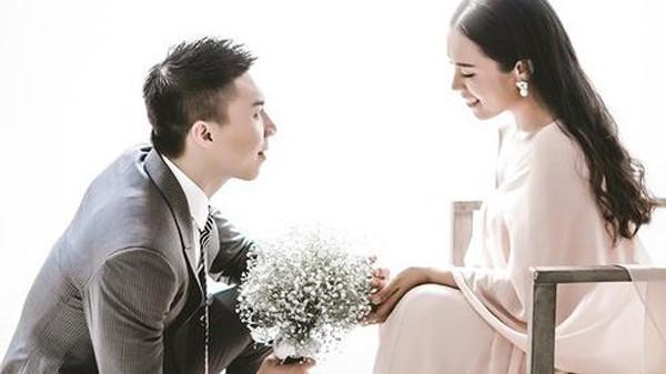 Hình ảnh đẹp của vợ chồng Quốc Nghiệp - Ngọc Mai.