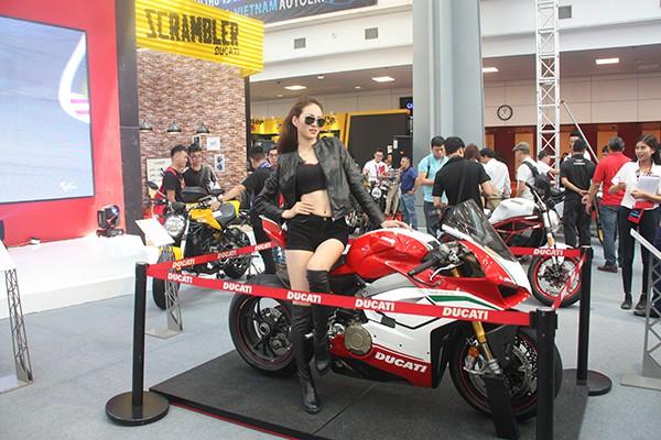 Mẫu xe Panigale V4 Speciale là phiên bản đặc biệt cao cấp của Ducati chỉ được sản xuất 1.500 chiếc.