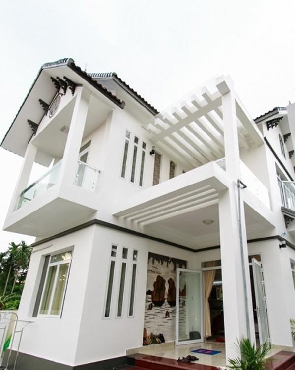 Nhà của Hoa hậu Phạm Hương ở Hải Phòng.