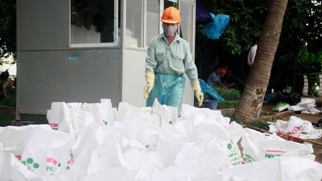 Hơn 20 tấn cá chết đã được thu gom và chuyển đi tiêu hủy.