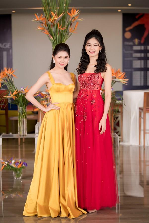 Hai Á hậu của Hoa hậu Việt Nam 2016: Ngô Thanh Thanh Tú và Thùy Dung.