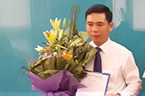 Ông Phạm Đình Trọng trong lễ nhận quyết định bổ nhiệm. Ảnh: TL