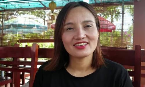 Chị Minh tâm sự về lý do dang dở việc học.