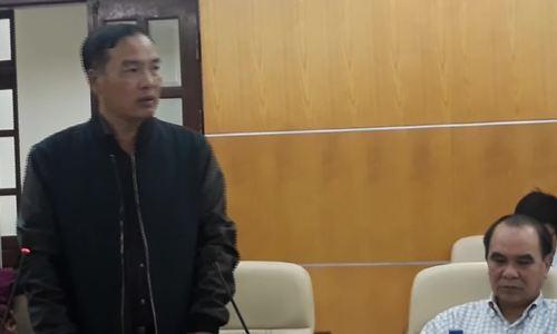 Ông Lê Nam Trà phát biểu