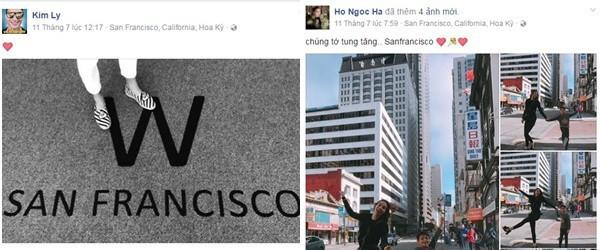 Ngày này năm ngoái, Kim Lý cũng ở San Francisco cùng Hà Hồ và gia đình cô.