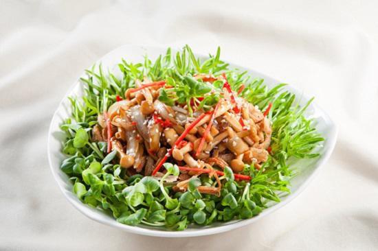 Rau mầm ngon, bổ, sạch có thể chế biến thành rất nhiều món ăn.