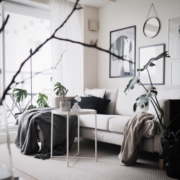 Căn hộ đẹp bình yên với sắc màu giản dị.