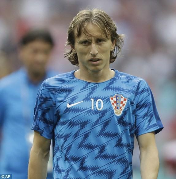 Ngôi sao Luka Modric