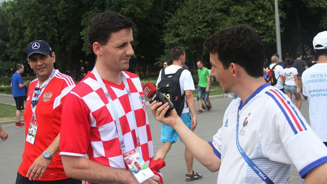 Một cổ động viên Croatia được chào bán giá vé xem chung kết World Cup 2018 đến 10.000 euro (khoảng 270 triệu đồng)