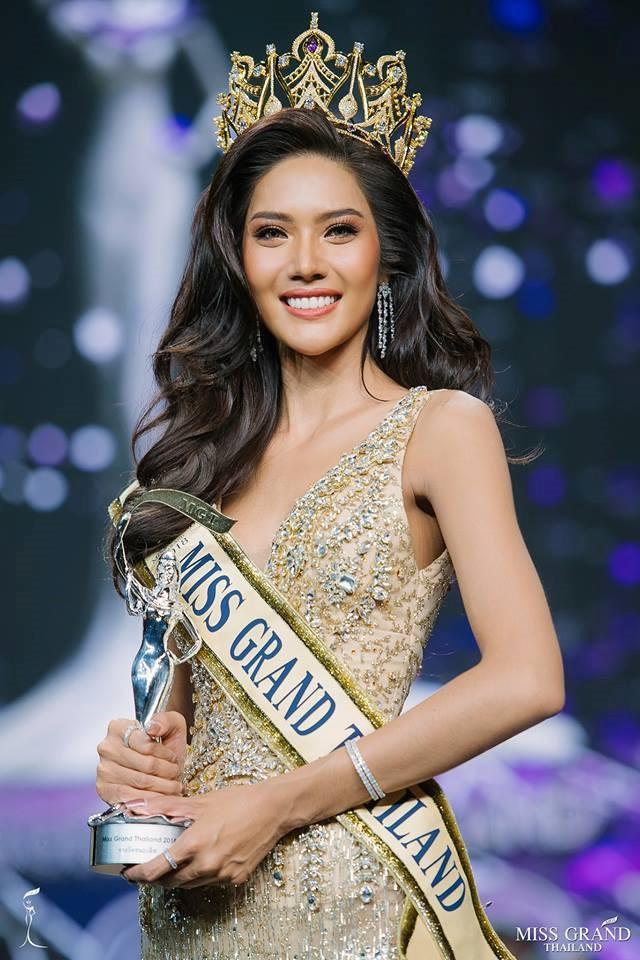 Nhan sắc tân hoa hậu Hòa bình Thái Lan 2018 - Namoey Chanaphan. Ảnh: MGI.