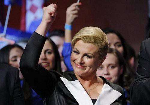 Tổng thống Croatia Kolinda Grabar-Kitarovic (Ảnh: Reuters)