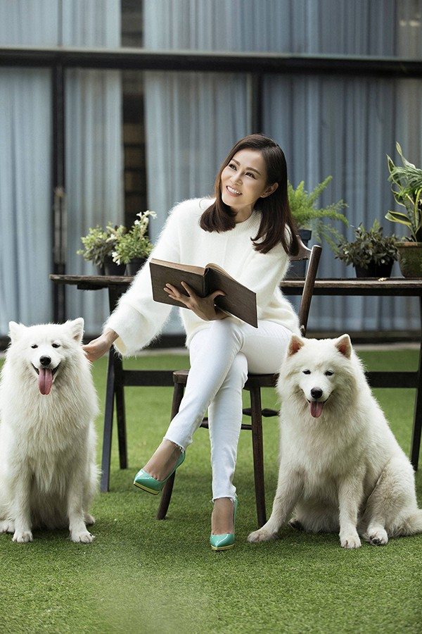 Hình ảnh mới của Thu Minh.
