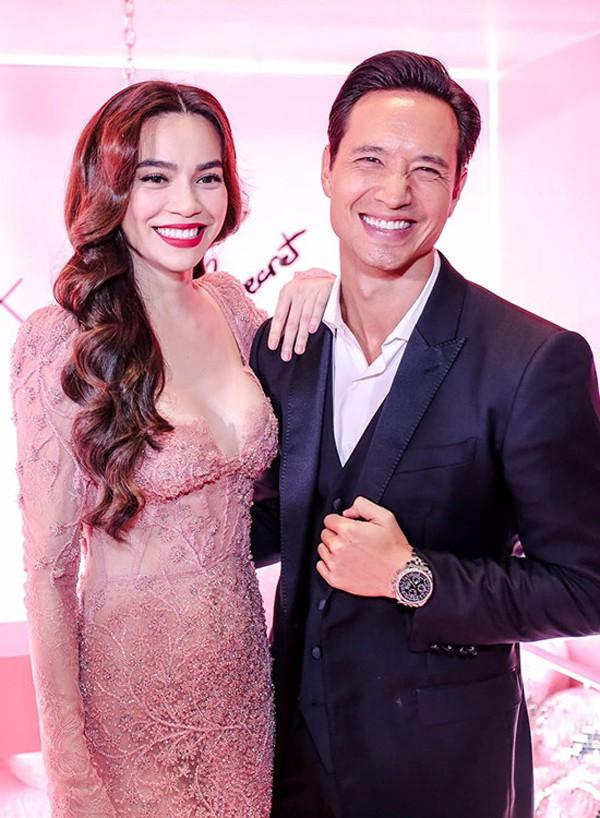 Kim Lý và Hà Hồ được xem là cặp đôi đẹp của làng giải trí Việt.