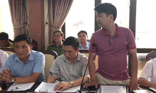 Ông Khương nói về thủ đoạn gian lận của ông Vũ Trọng Lương. Video: Dương Tâm.