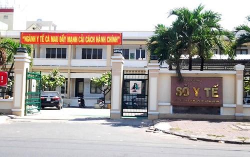 Sở Y tế Cà Mau - nơi có cán bộ chiếm dụng tiền học phí của sinh viên. Ảnh: Phúc Hưng.