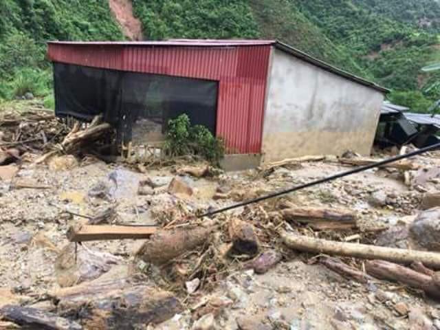 Ước tính tổng thiệt hại tại Yên Bái lên đến 200 tỷ đồng.