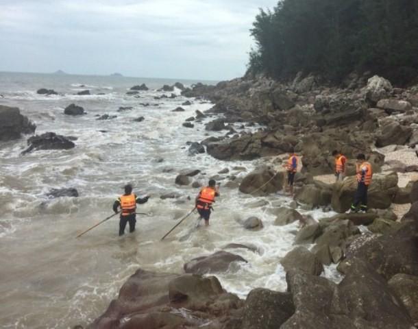 Lực lượng chức năng Thanh Hóa đang tích cực tìm kiếm nạn nhân mất tích