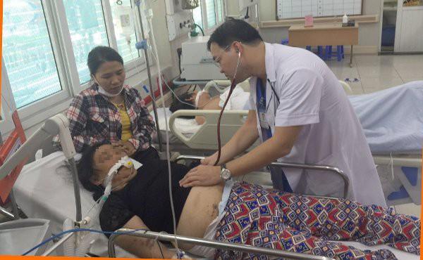 Bệnh nhân đột quỵ do sốc nhiệt