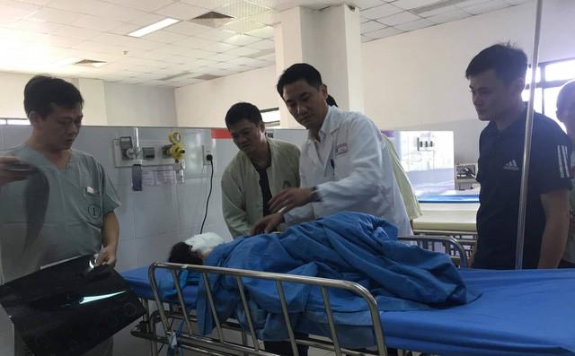 Bệnh nhân điều trị tại bệnh viện.