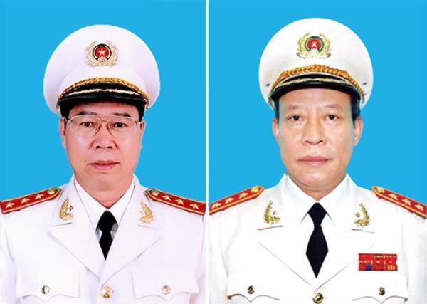 Thượng tướng Bùi Văn Nam và Thượng tướng Lê Quý Vương (ảnh tư liệu)