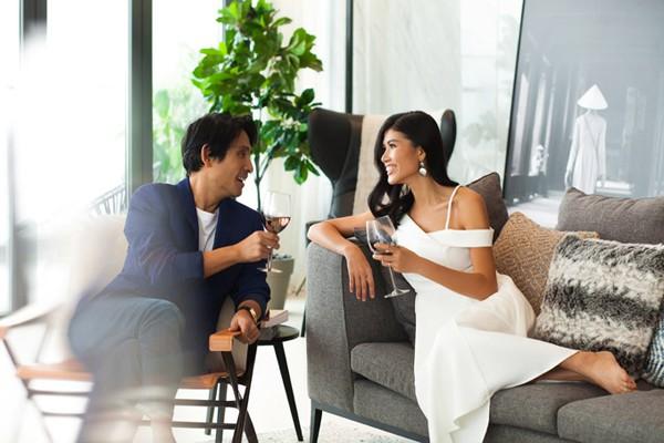 Người đẹp hạnh phúc bên chồng Việt kiều đại gia.