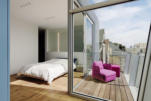 Một phòng ngủ khác được bố trí hài hòa