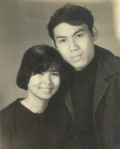 Vợ chồng Xuân Quỳnh, Lưu Quang Vũ.