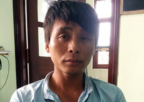 Nguyễn Đăng Khoa tại cơ quan điều tra. Ảnh: VnExpress