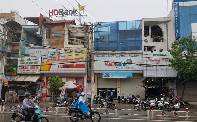 ' Ngân hàng TMCP Công Thương Việt Nam (VietinBank) nơi xảy ra vụ việc. Ảnh: A.S '