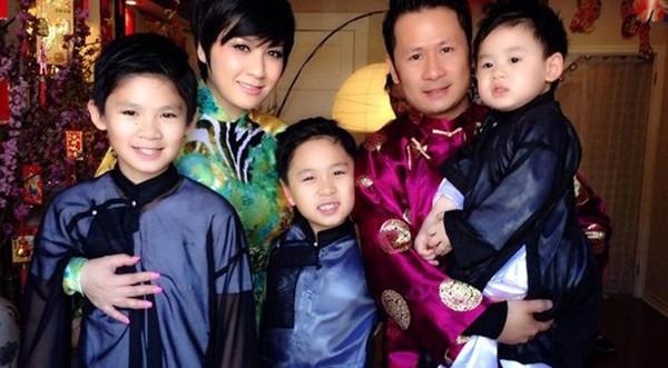 Gia đình hạnh phúc một thời của Bằng Kiều - Trizzie Phương Trinh.