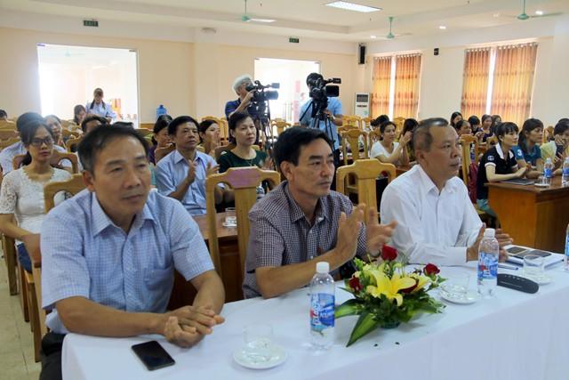 Lãnh đạo Sở Y tế, Chi cục DS-KHHGĐ tỉnh Thanh Hóa tham dự hội nghị
