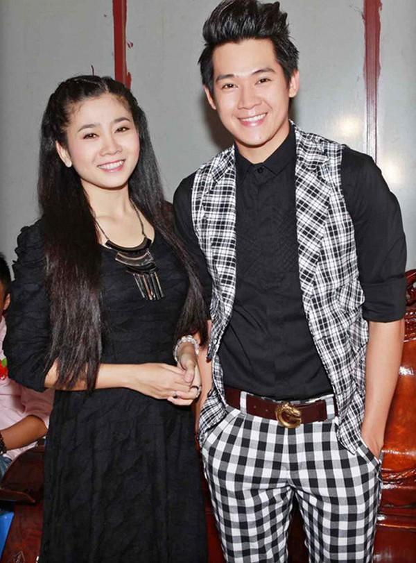 Diễn viên Mai Phương và Phùng Ngọc Huy lúc còn mặn nồng.