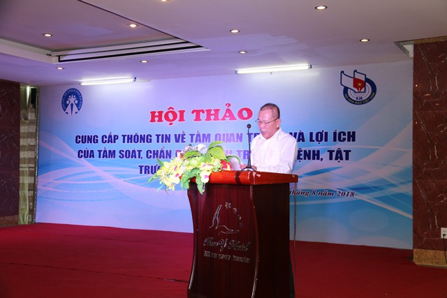 Tiến sĩ Nguyễn Bá Cẩn - Phó Giám đốc Sở Y tế Thanh Hóa