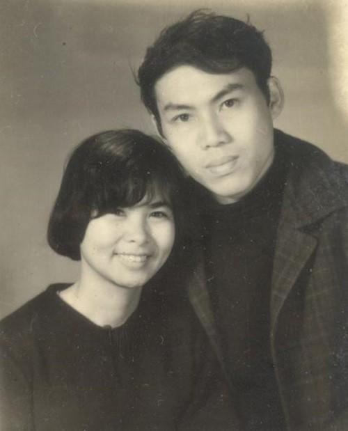 Vợ chồng nghệ sĩ Lưu Quang Vũ - Xuân Quỳnh lúc sinh thời.