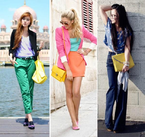 Một chiếc túi hợp mốt sẽ khiến bạn nổi bật và xinh đẹp hơn