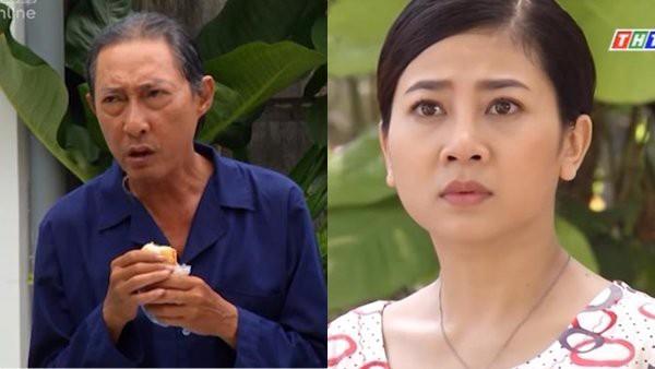 Trong Sức nặng tình thâm, Lê Bình và Mai Phương đóng vai cha con.