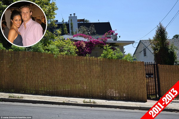 Còn đây là ngôi nhà Meghan Markle ở cùng người chồng đầu tiên từ năm 2011 - 2013.