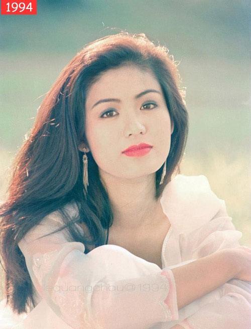 Nhan sắc yêu kiều của Hoa hậu Nguyễn Thu Thủy lúc vừa đăng quang.