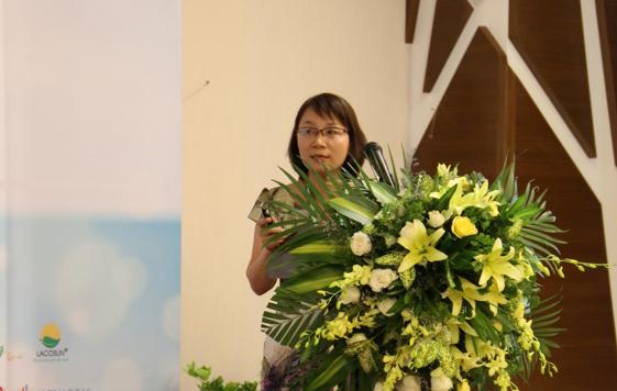 Ths.BS Bùi Thị Hồng Nhu báo cáo tại hội nghị