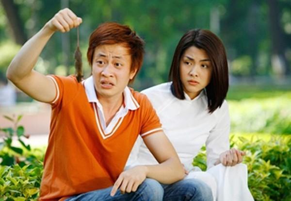 Lương Mạnh Hải và Tăng Thanh Hà nổi tiếng nhờ phim Bỗng dưng muốn khóc.