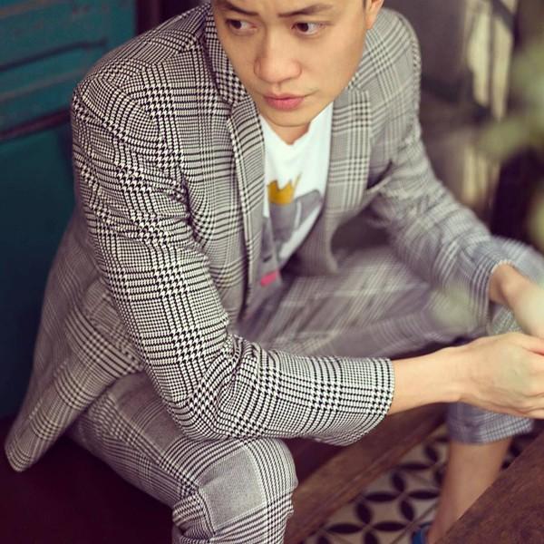 Nam diễn viên gốc Hà thành còn là người mẫu nổi tiếng của nhiều nhãn hàng.