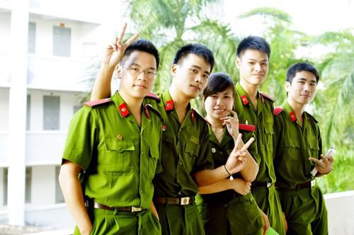 Học viên Học viện CSND.
