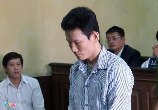 Thái tại phiên tòa phúc thẩm sáng 8/8. Ảnh: Dũng Phạm.