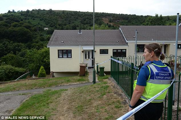 Khu nhà mới mà David Gaut vừa chuyển đến ở được 6 tuần.
