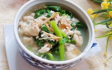 Bánh đa cá rô rau cải có thể ăn vào bữa sáng hoặc ăn vào bữa tối những ngày chán ăn, nóng nực - Ảnh: Internet