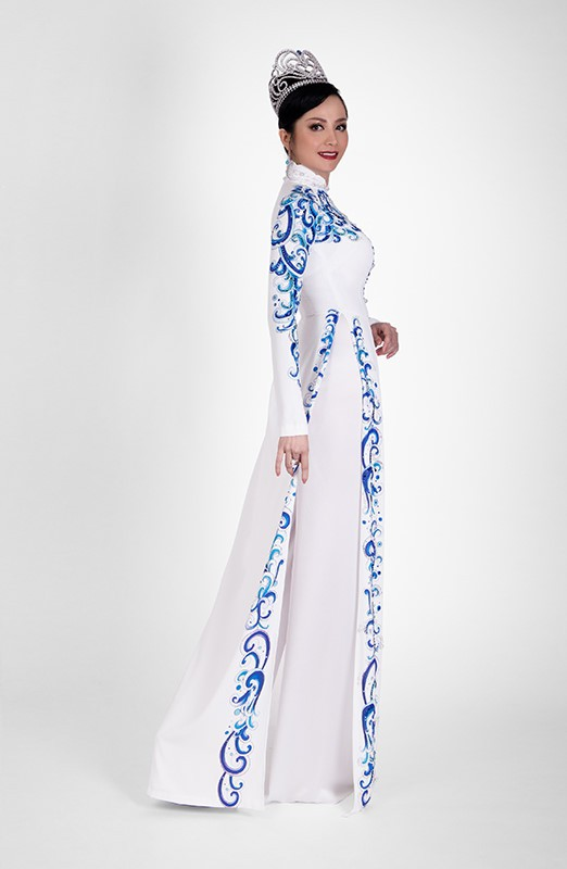 Đây là hình ảnh mới nhất của Hoa hậu Thiên Nga (ảnh: NVCC)
