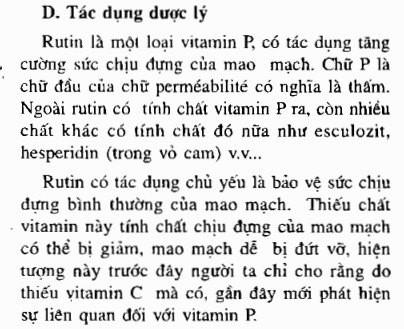 """Trích tác dụng của hòe hoa trong """"Những cây thuốc và vị thuốc Việt Nam"""""""