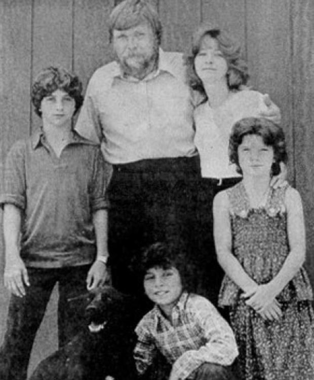 Gia đình ông bà Lutz.