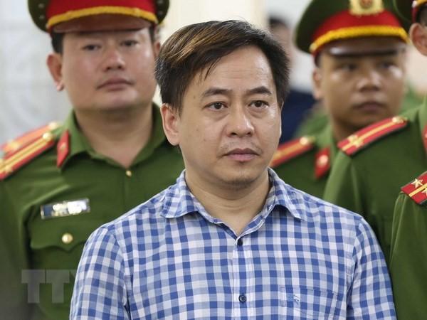 """Phan Văn Anh Vũ tại phiên tòa sơ thẩm xử tội """"Cố ý làm lộ tài liệu bí mật Nhà nước"""""""