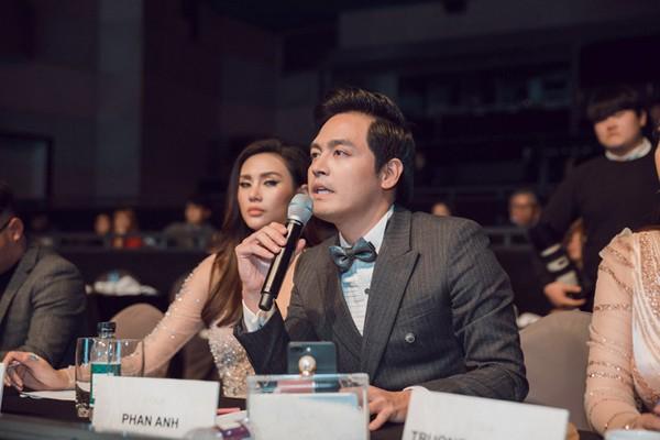 MC Phan Anh là một giám khảo quen mặt trong nhiều cuộc thi nhan sắc.